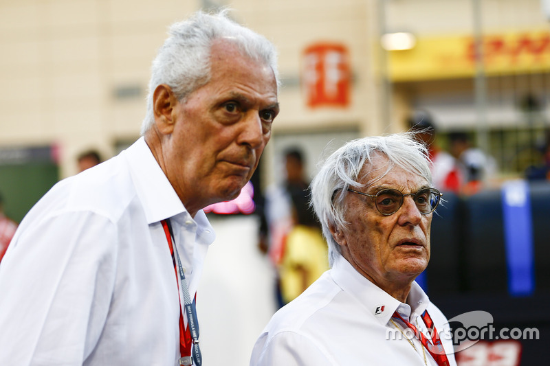 Marco Tronchetti Provera, Executive Vice Chairman and Chief Executive Officer, Pirelli, Bernie Eccle