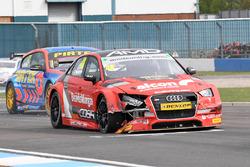 Ollie Jackson, AmD Tuning Audi S3, crash
