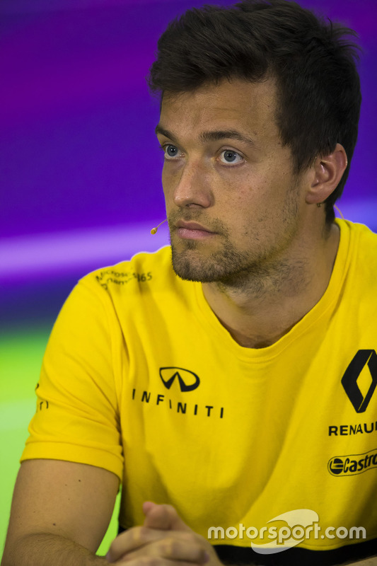 Jolyon Palmer, Renault Sport F1 Team Sport F1, in the press conference