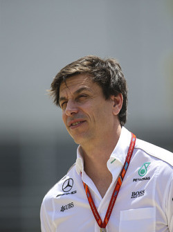 Toto Wolff, Executive Director, Mercedes AMG