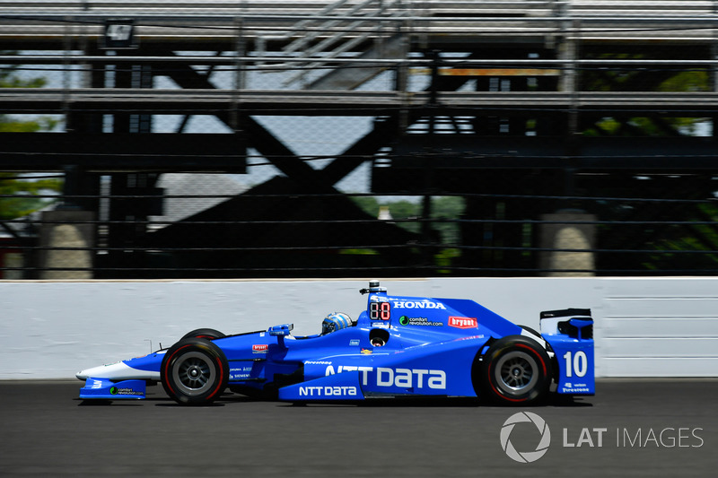 7. Tony Kanaan, Chip Ganassi Racing, Honda