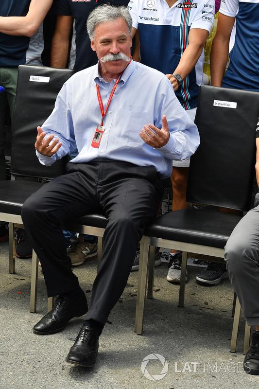 Chase Carey, director ejecutivo y presidente del Formula One Group