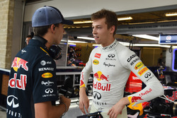 Daniil Kvyat, Red Bull Racing en Pierre Gasly