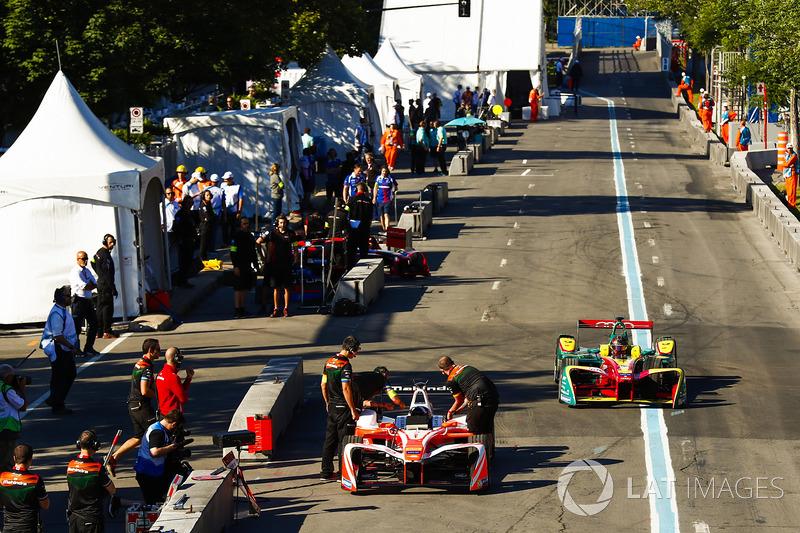 Nick Heidfeld, Mahindra Racing, Daniel Abt, ABT Schaeffler Audi Sport