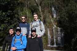 Bruno Spengler, Augusto Farfus, Marco Wittmann, Philipp Eng e Joel Eriksson, Hiking