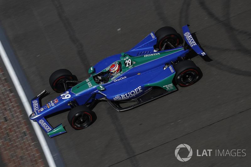 21°: Carlos Munoz, Andretti Autosport Honda