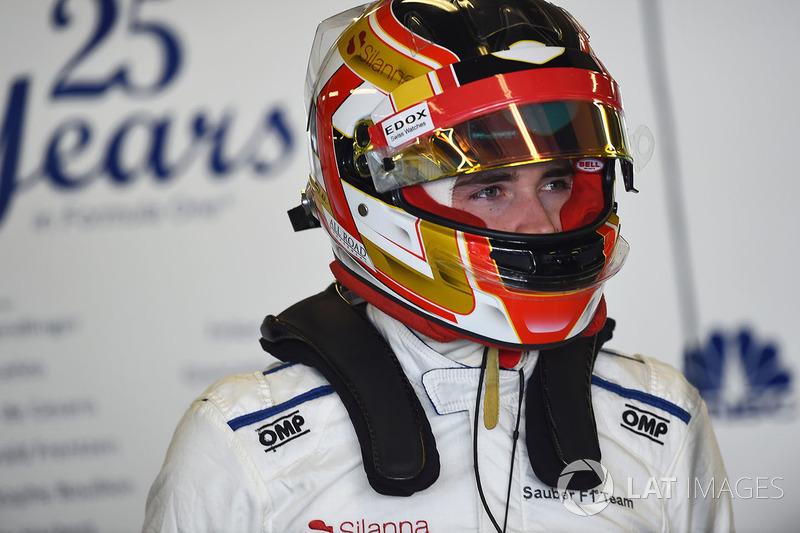 #16 Charles Leclerc, Alfa Romeo Sauber