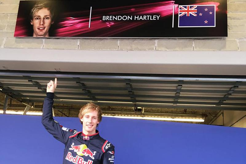 Брендон Хартли – Scuderia Toro Rosso, 2017 год
