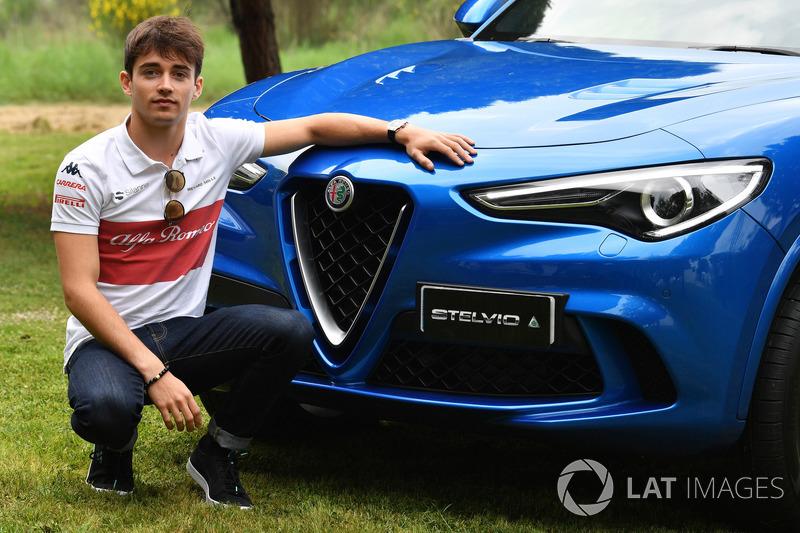 Charles Leclerc, Sauber con Alfa Romeo Stelvio