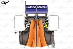 McLaren MCL33 trasero
