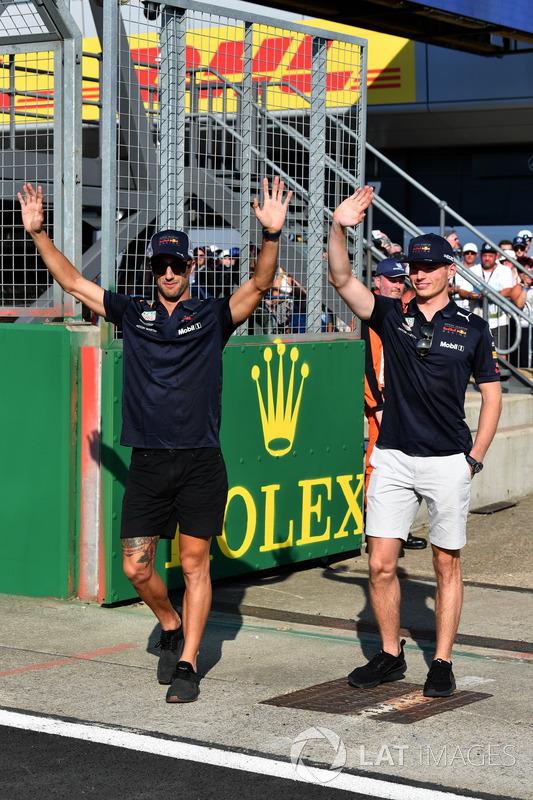 Daniel Ricciardo, Red Bull Racing e Max Verstappen, Red Bull Racing