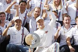 3. Valtteri Bottas, Williams ve 4. Felipe Massa, Williams