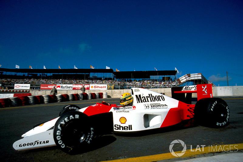 Айртон Сенна, Гран При Бразилии-1991. Позиция на финише: 1
