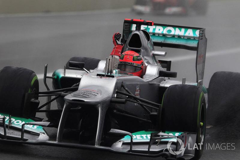 2012: Último Gran Premio de Michael Schumacher