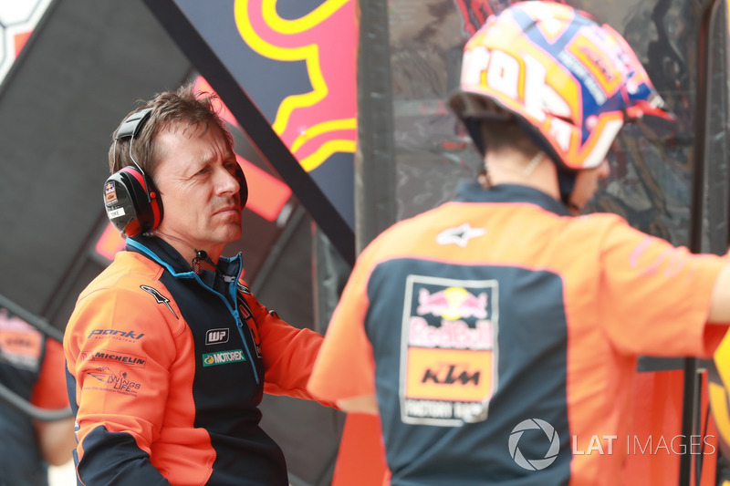 Mike Leitner, Red Bull KTM Factory Racing