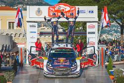 Winners Sébastien Ogier, Julien Ingrassia, Ford Fiesta WRC, M-Sport Ford