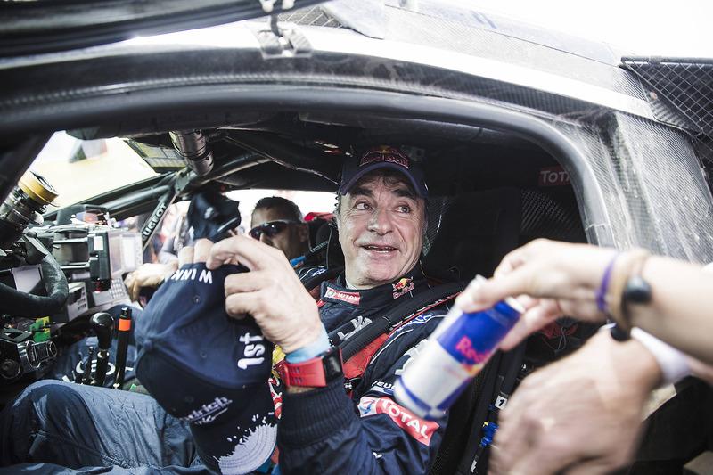 Car winner Carlos Sainz, Peugeot Sport