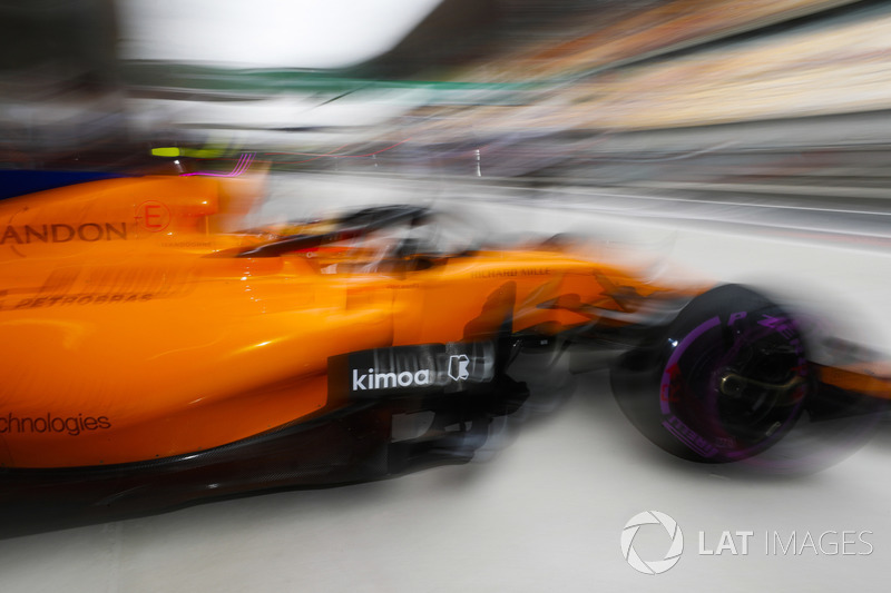 Стоффель Вандорн, McLaren MCL33 Renault