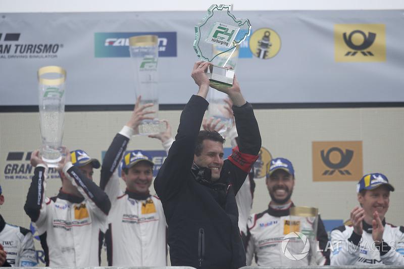 Совладелец Manthey Racing Мартин Ридер