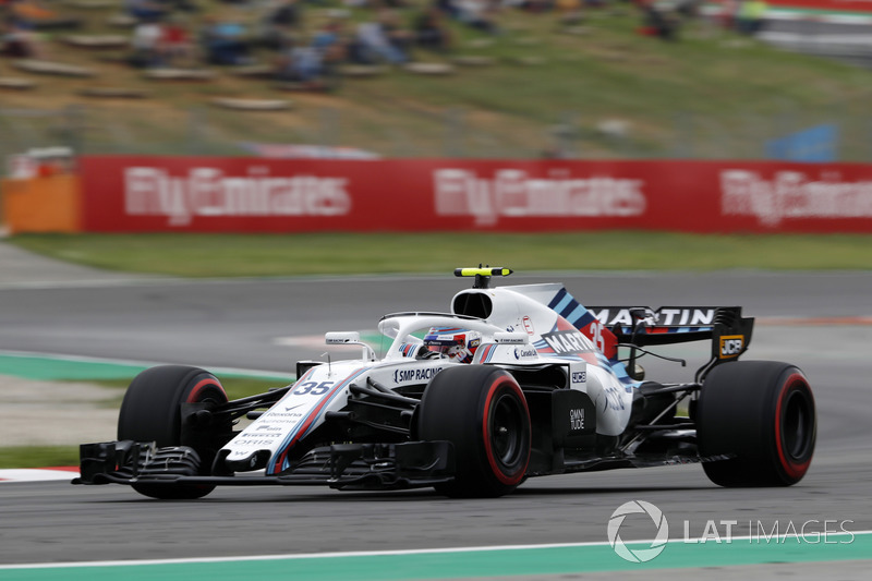 19: Sergey Sirotkin, Williams FW41, 1'19.695 (inc 3-place grid penalty)