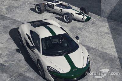 Presentación del McLaren Edición 570S M2B