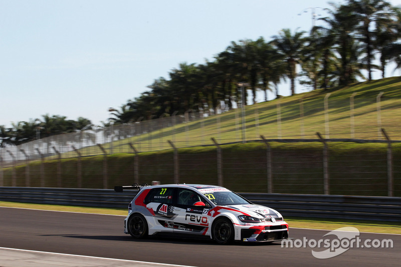 William O'Brien, Volkswagen Golf Gti TCR, TeamWork Motorsport