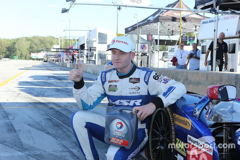 Polesitter: #60 Michael Shank Racing with Curb/Agajanian, Ligier JS P2 Honda: John Pew, Oswaldo Negri Jr., Olivier Pla
