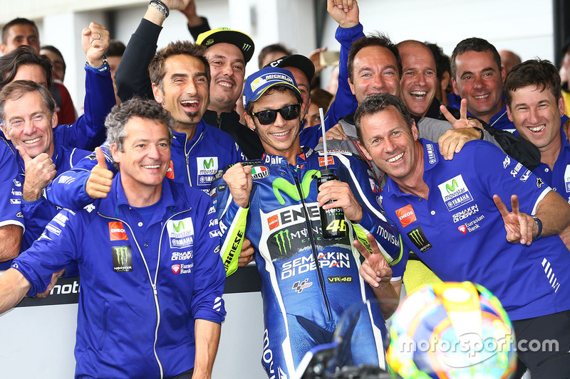 Terzo, Valentino Rossi, Yamaha Factory Racing