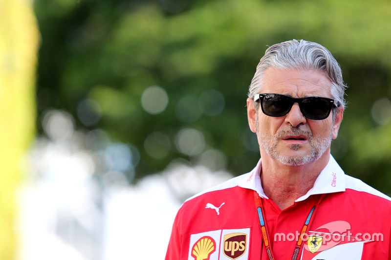 Maurizio Arrivabene, Scuderia Ferrari, Temchef