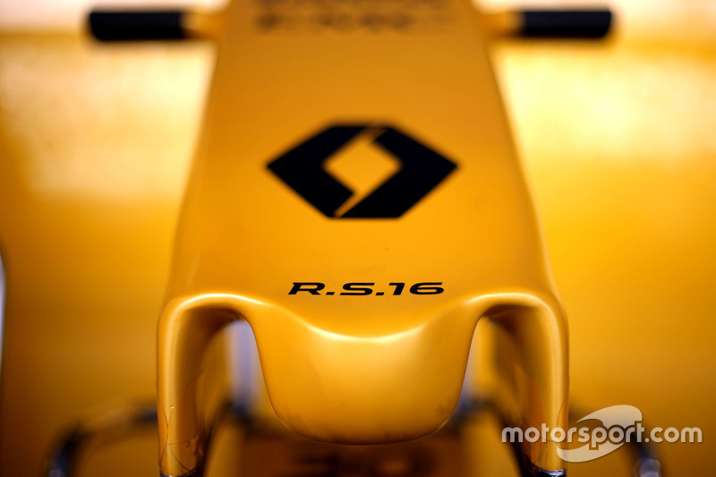 Nase des Renault RS16
