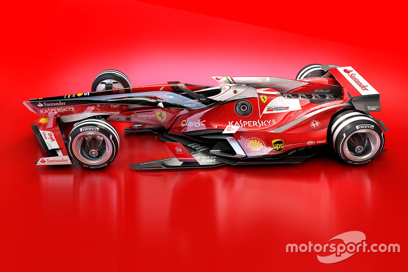2018 ferrari f1. Fine Ferrari Ferrari 2030 Fantasy Design Throughout 2018 Ferrari F1 F