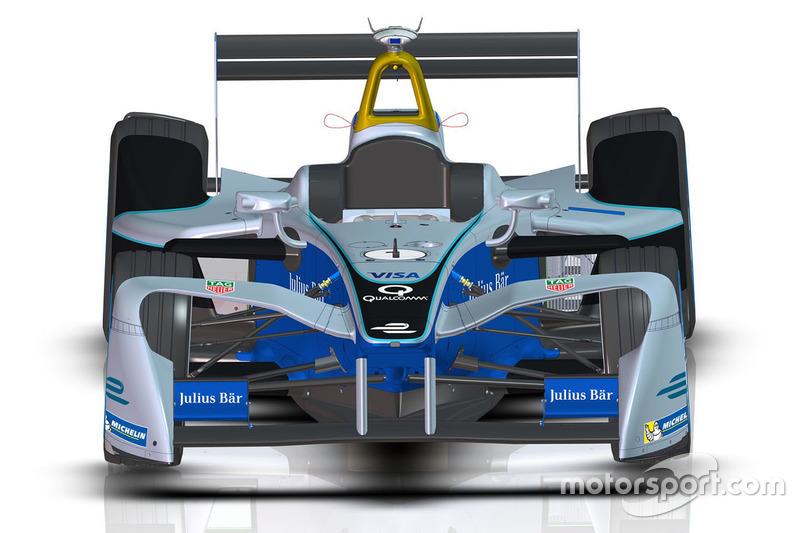 Desain baru mobil Formula E 2017