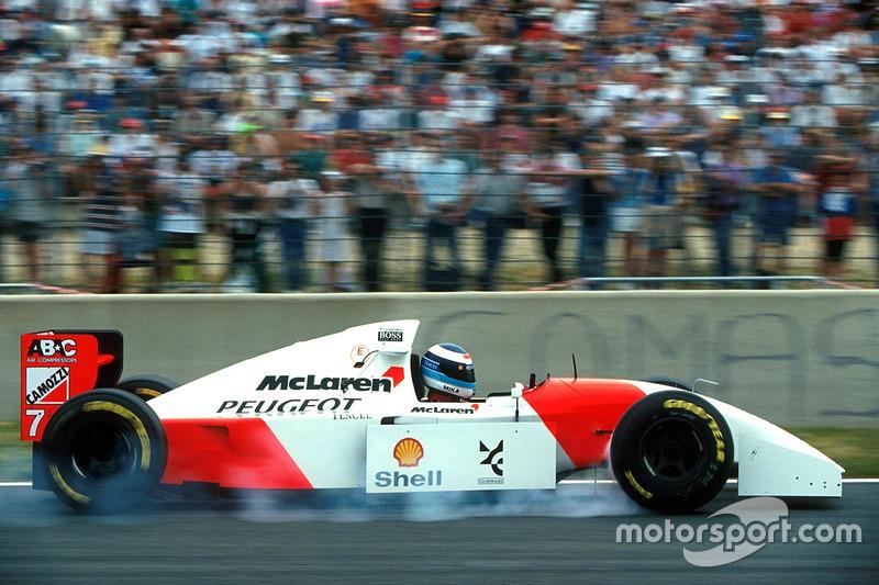 Mika Hakkinen, McLaren Peugeot