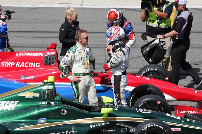 Ed Carpenter, Ed Carpenter Racing Chevrolet, Josef Newgarden, Ed Carpenter Racing Chevrolet