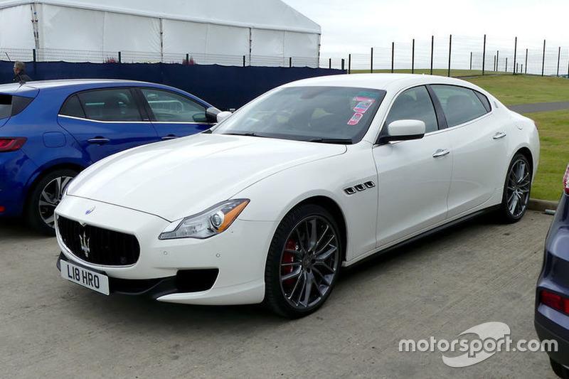 Мауріціо Аррівабене приїхав у паддок Сільверстоуна на Maserati