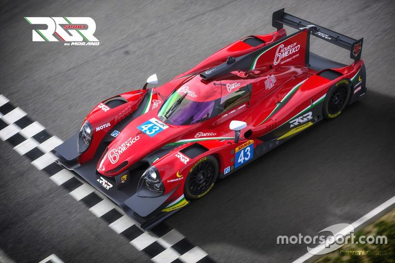 Anunció auto de Ricardo González, Filipe Albuquerque y Bruno Senna del equipo RGR Sport by Morand