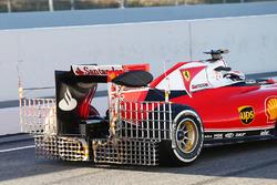 Kimi Raikkonen, Ferrari SF16-H running sensor equipment at the rear wing
