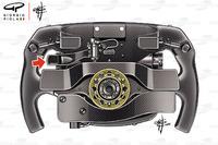 Sebastian Vettel, Ferrari SF71H direksiyon detay