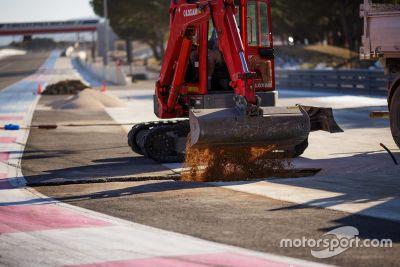 Paul Ricard cambios en la pista