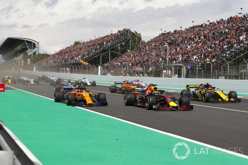 Daniel Ricciardo, vijfde plaats