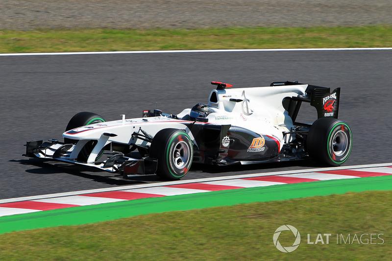 2010 : BMW Sauber C29, à moteur Ferrari