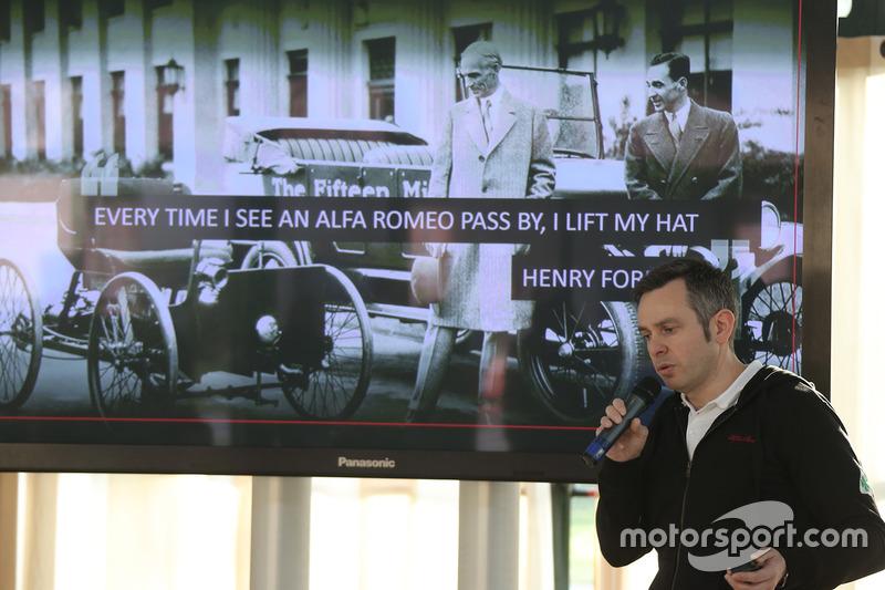 Представление Alfa Romeo F1