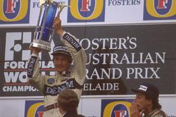 1. Thierry Boutsen, Williams; 3. Riccardo Patrese, Williams