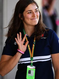 Tatiana Calderon, Sauber Test Driver