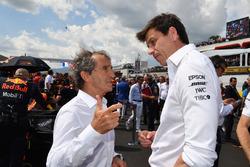 Ален Прост, Renault Sport F1 Team, керівник Mercedes AMG Тото Вольфф