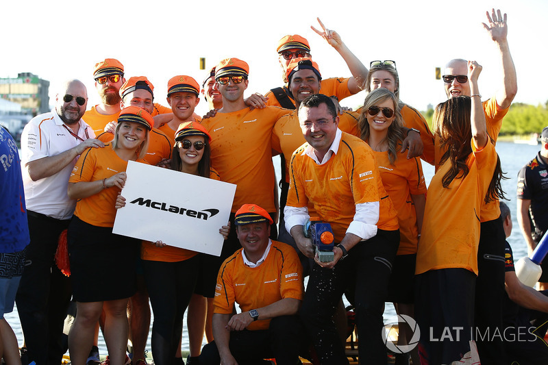 The McLaren Raft Race Team
