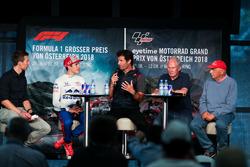 Marc Marquez, Mark Webber, Niki Lauda