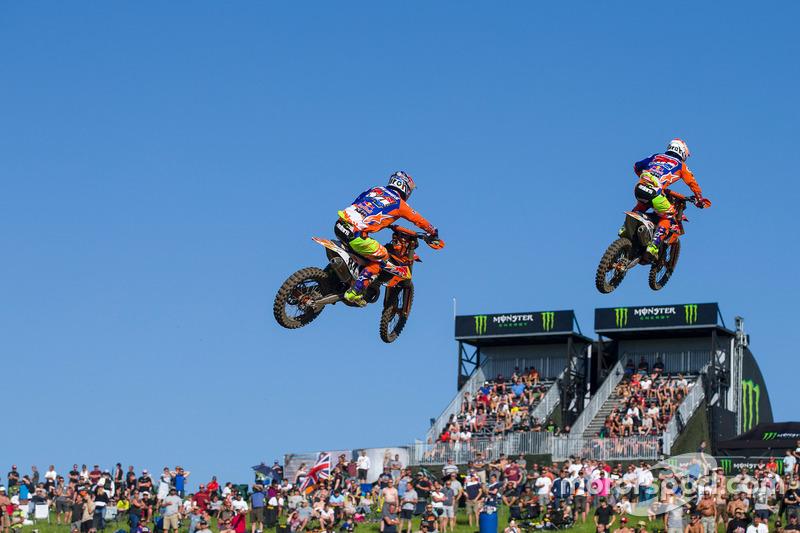 Glenn Coldenhoff en Jeffrey Herlings, KTM MXGP