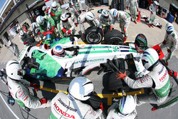 Jenson Button, Honda RA108, pitstop