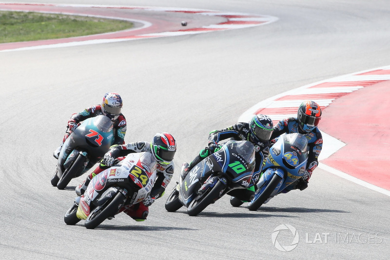 Tatsuki Suzuki, SIC58 Squadra Corse, Dennis Foggia, Sky Racing Team VR46, Aron Canet, Estrella Galicia 0,0, Ayumu Sasaki, SIC Racing Team